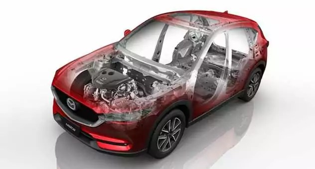 Mazda CX-5 SKYACTIV Body and Chassis