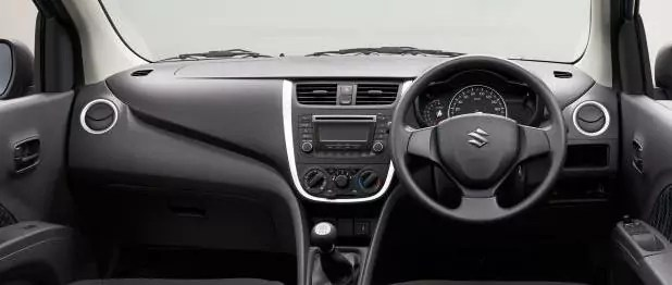 suzuki celerio interior dashboard