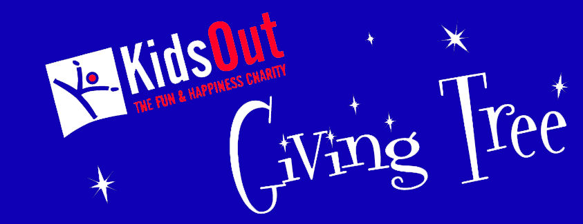 Giving Tree gift appeal with KidsOut