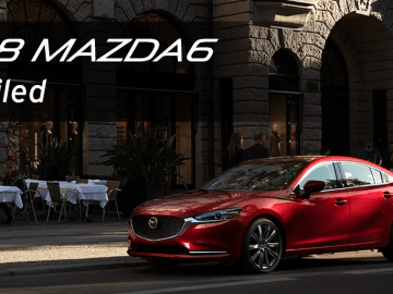 2018 Mazda 6 unveiled at LA Motor Show