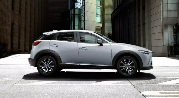 cx3 side view