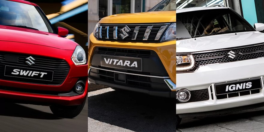 Suzuki wins at 2019 Honest John Awards with Vitara, Swift and Ignis