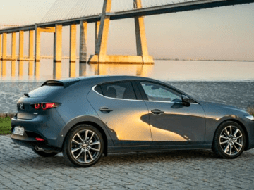 all-new mazda 3 hatchback polymetal grey