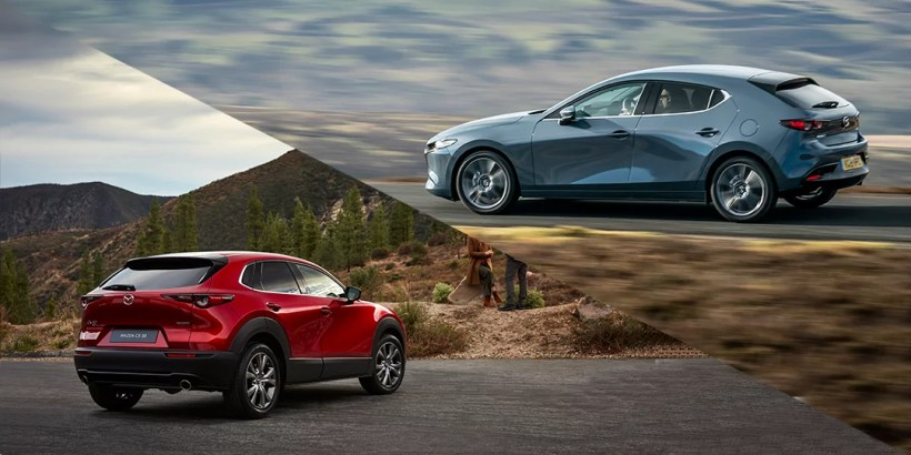 2020 World Car of the Year Mazda 3 and CX-30