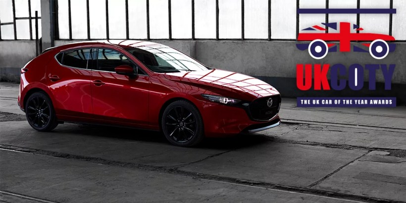Mazda 3 Best Small Hatchback 2020 UK Car of the Year Awards