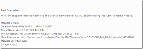 Azure Automation Runbook: New-FakeVirus - System Center Central