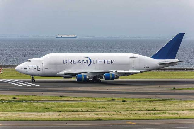 Unique Flying Machines: Boeing 747 LCF Dreamlifter