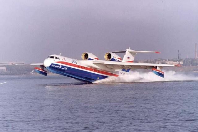 Unique Flying Machines: Beriev Be-200 Seaplane