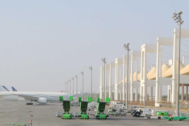 Hajj Flight Operations to Jeddah