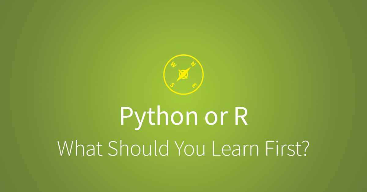 How to Choose Between Learning Python or R First | Udacity