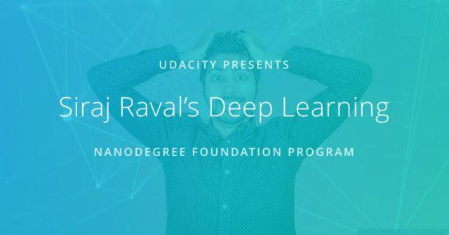 Deep Learning Foundation Nanodegree program