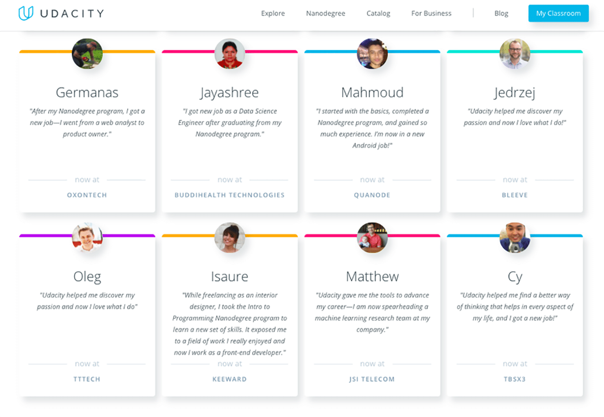 A Look Back At Some Inspirational Student Success Stories | Udacity