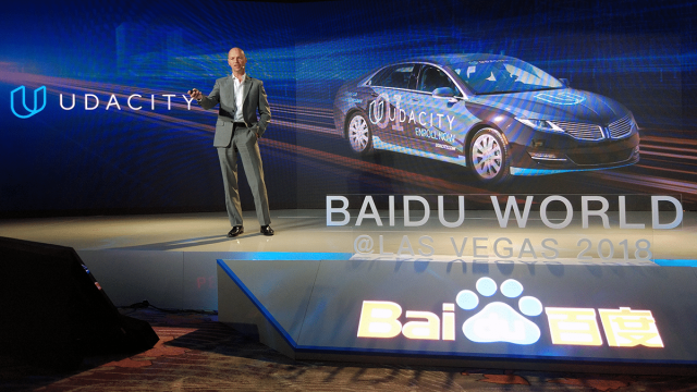 Udacity - Baidu - Self Driving Cars