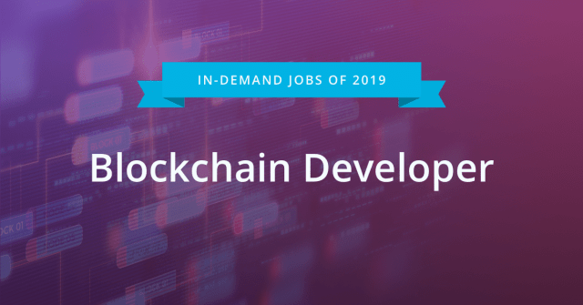 driven by the surging interest in blockchain and cryptocurrencies the number of people who added blockchain developer to their linkedin profile