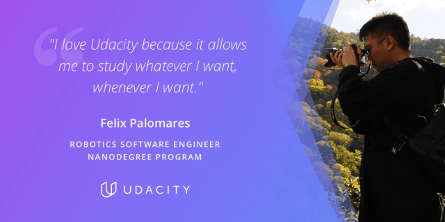 Felix Palomares Udacity Robotics Software Engineer Nanodegree program