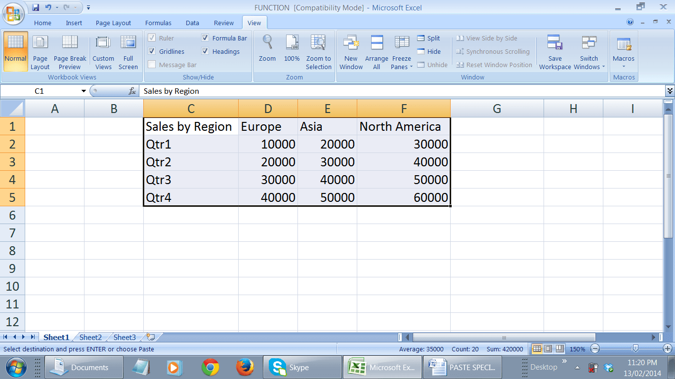 Excel Columns To Rows 3 Easy Ways To Transpose Your Data