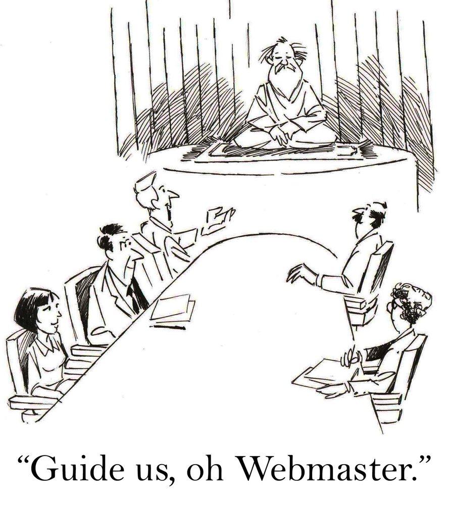 Webmaster Job Description Consists Of Four Key Roles