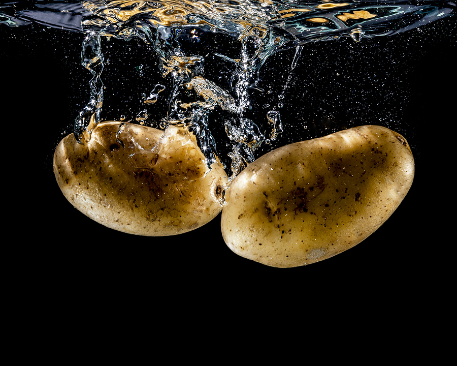 Osmosis Experiment For Kids Potato Water and Salt