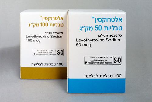 האלטרוקסין וחלופותיו – תמונת מצב