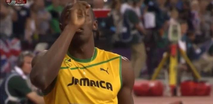 יוסיין בולט בגמר ריצות ה-100 מטר וה- 200 מטר באולימפיאדת לונדון 2012 – אין דברים כאלה!