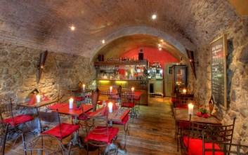 המסעדה ב- Thun מבפנים