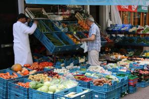 ביקור באחד השווקים