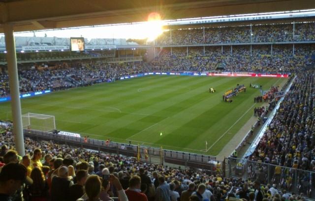 Rasunda: Schweden - Brasilien