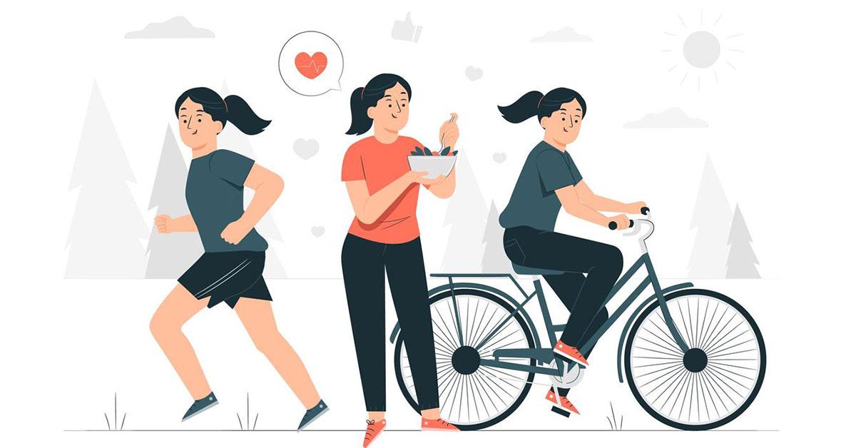 Как похудеть к лету без диеты?