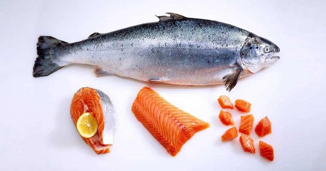 разделка свежей рыбы