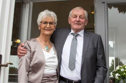 Das Jubelpaar Brigitte und Reimer Uhl