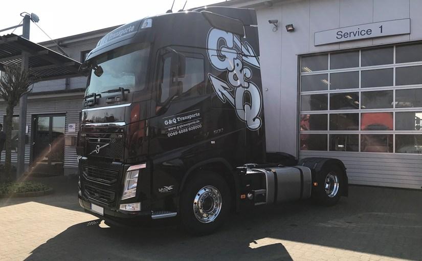 Neufahrzeug G&Q Transporte, Volvo FH
