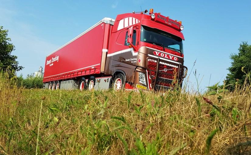 Auslieferung Auflieger Krause Trucking