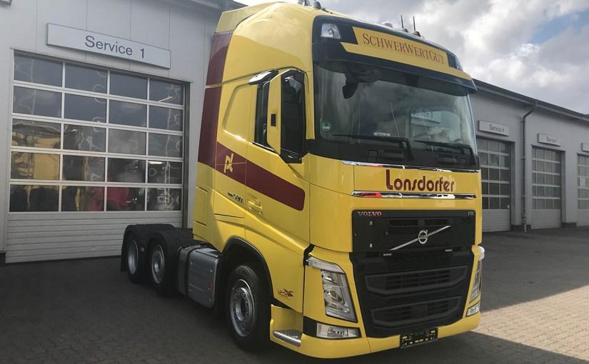 Neufahrzeug Peter Lonsdorfer, Volvo FH