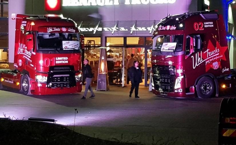 Eröffnung Uhl Trucks & Trailer Zentrum in Hemmingstedt und 35 Jahre Uhl Trucks