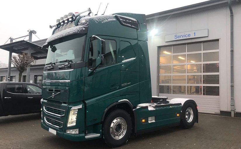Neufahrzeug Gebrüder Krippeit GmbH, Volvo FH