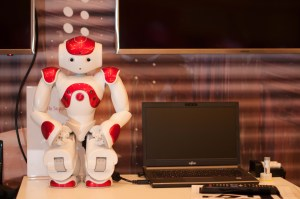 Header image of robot at World Tour Education zone