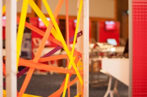 Header image of co-creation zone at Fujitsu World Tour