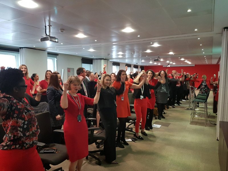 International Women's Day event at Fujitsu office in London