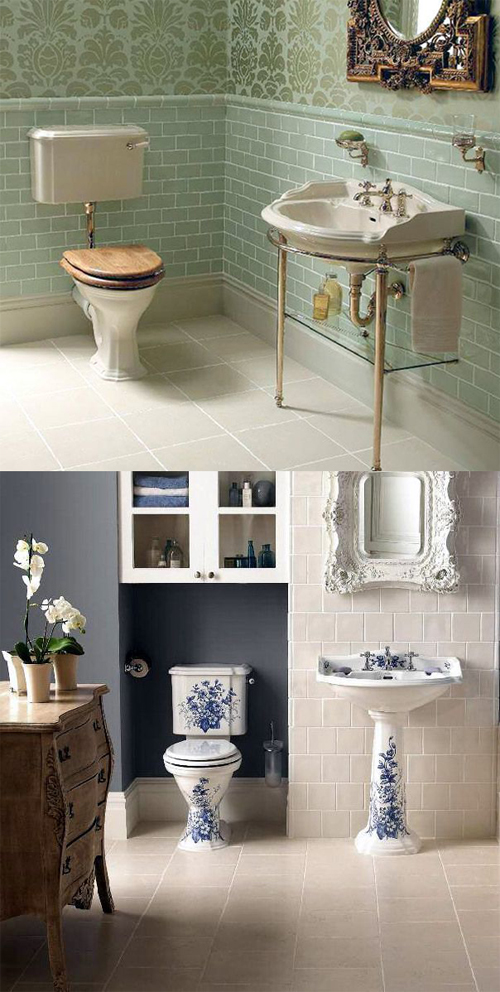 How to create a vintage style bathroom  UK Bathrooms