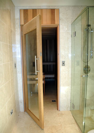 Custom Built Cedar Sauna in Seaforth NSW