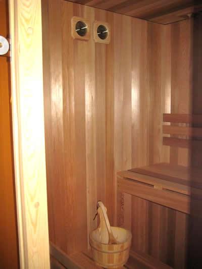 Ukko Cedar custom built pre-cut sauna - ready to use
