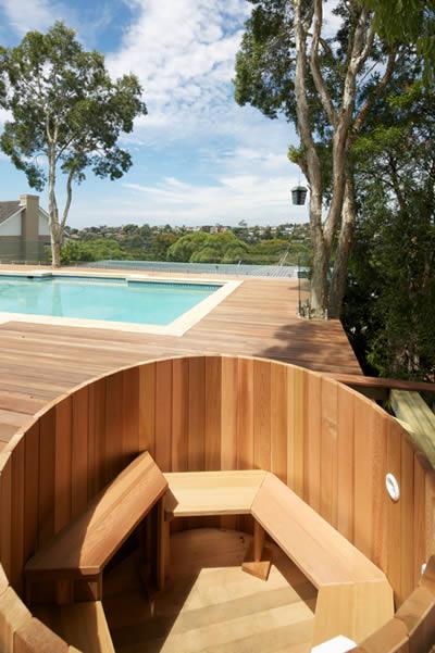Ukko Original Cedar Hot Tub - a relaxing retreat with the view!