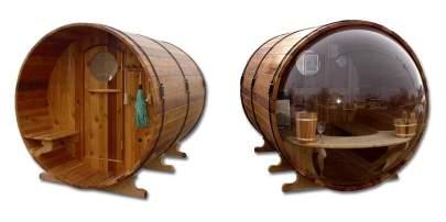 Scenicview Barrel Sauna Range
