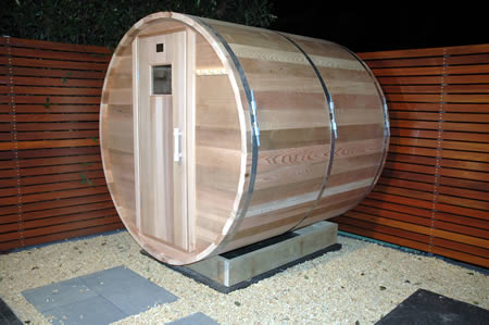 Ukko Barrel Sauna installed in Blue Mountains