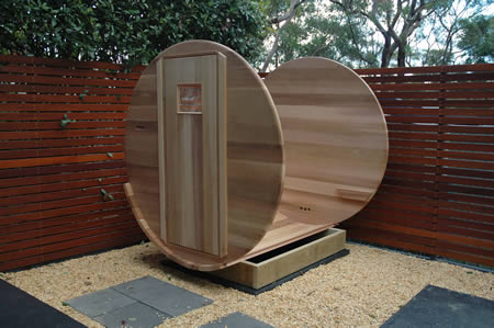 Ukko Sauna installation - step 3