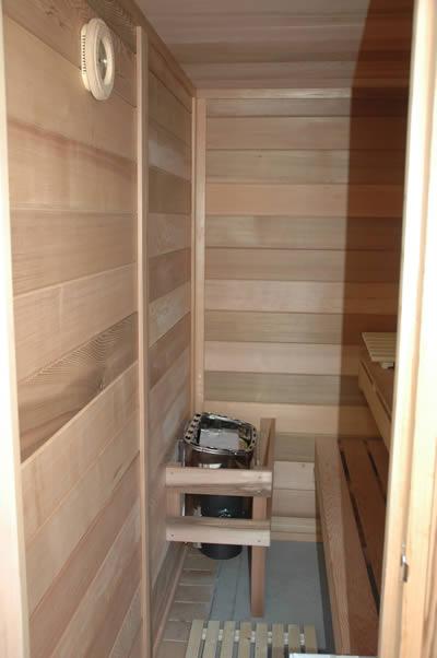 Inside sauna image 2