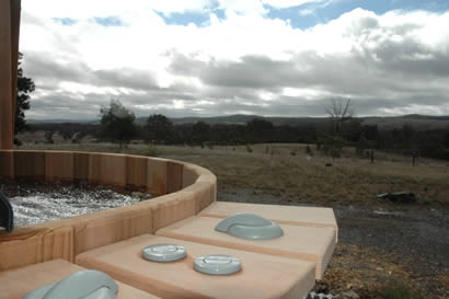 Ukko wood fired hot tub