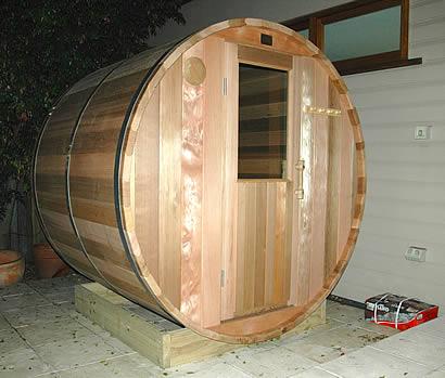 Half glass door for sauna