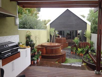 Nice tranquility settings with Ukko tub