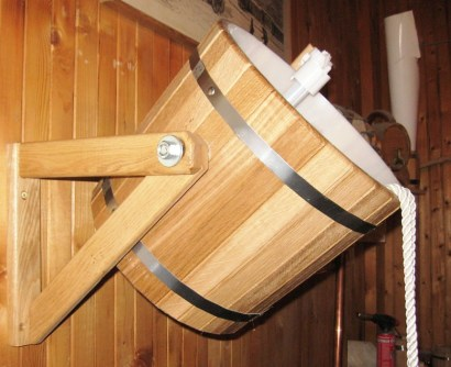 Ukko self filling sauna bucket